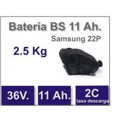 Set Batería BS 36v 11 Ah.